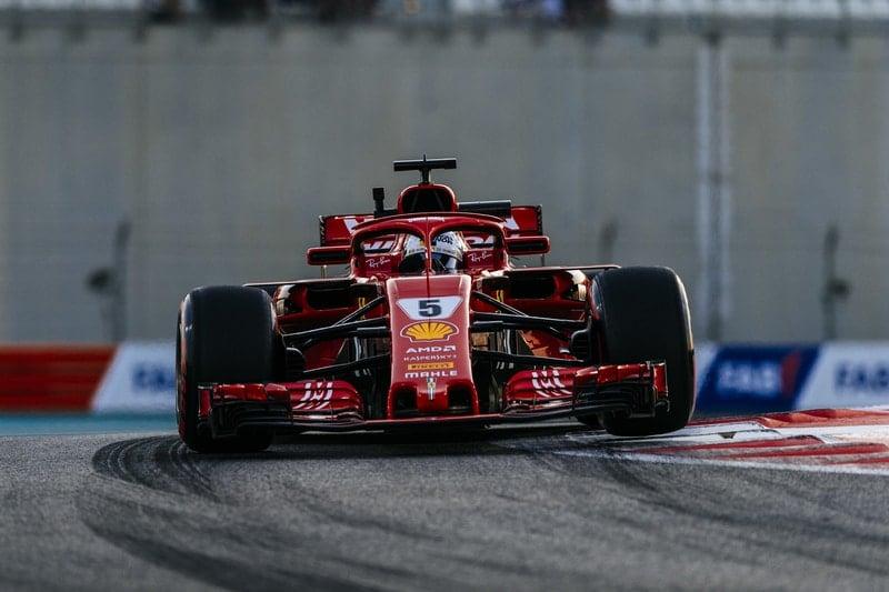 Sebastian Vettel - Abu Dhabi Grand Prix - F1