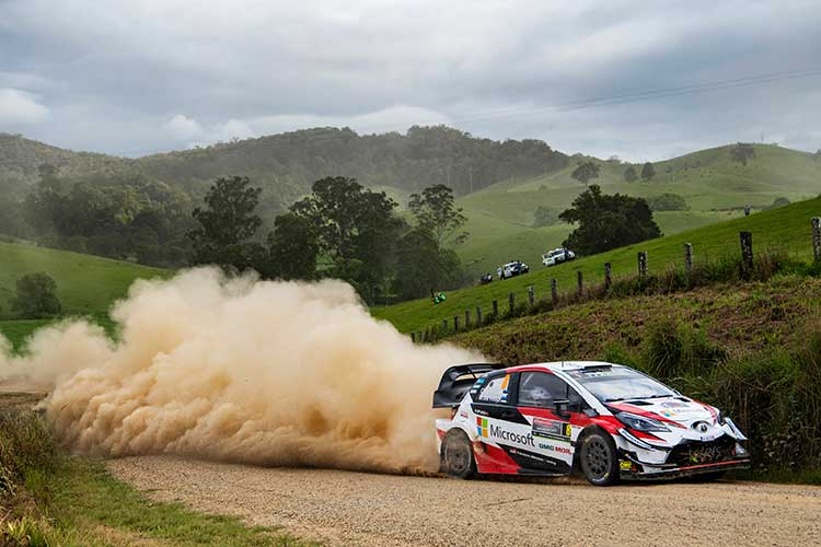Tänak holds Rally Australia lead as Ogier holds on to championship advantage
