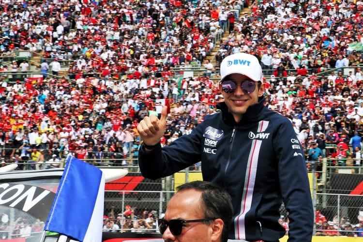 Esteban Ocon - Formula 1 - 2018 Mexican GP