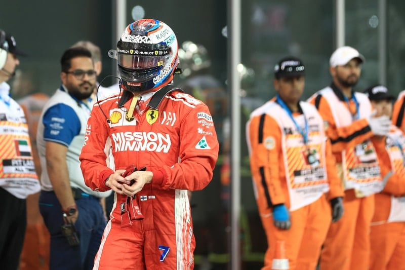 Kimi Räikkönen - Formula 1 - 2018 Abu Dhabi GP