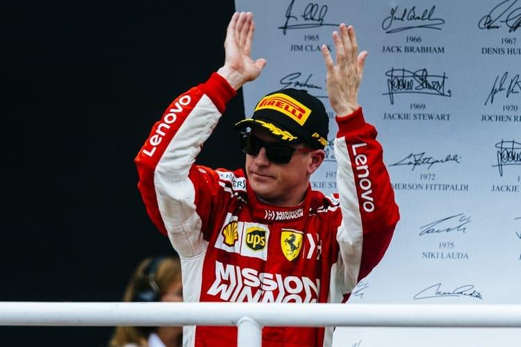 Kimi Räikkönen - Formula 1 - 2018 Brazilian GP