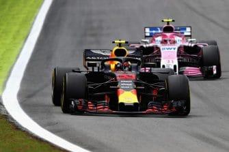 Max Verstappen & Esteban Ocon - Formula 1 - 2018 Brazilian GP