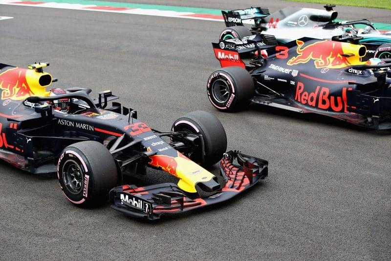 Max Verstappen, Daniel Ricciardo & Lewis Hamilton - Formula 1 - 2017 Mexican GP