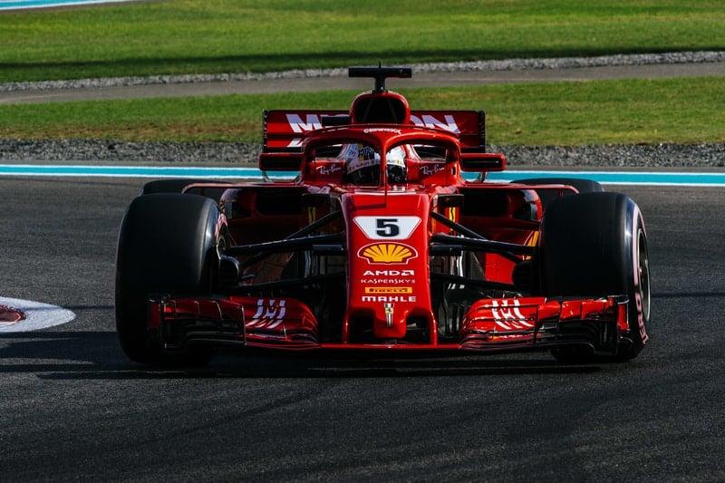 Sebastian Vettel - Formula 1 - 2018 Abu Dhabi Test