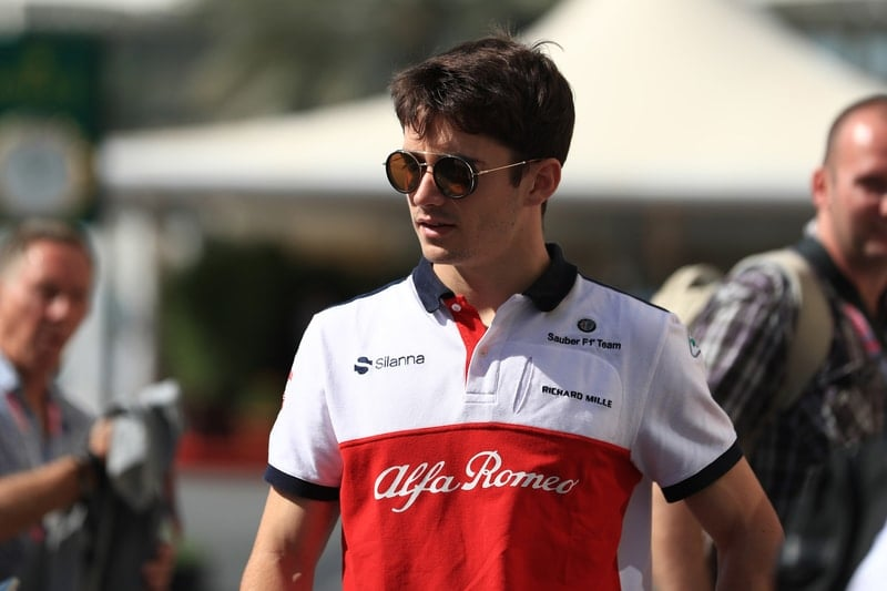 Charles Leclerc - Alfa Romeo Sauber F1 Team - Abu Dhabi GP