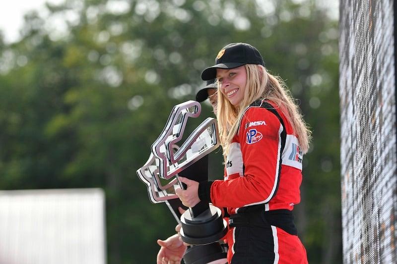 Christina Nielsen - Wright Motorsports