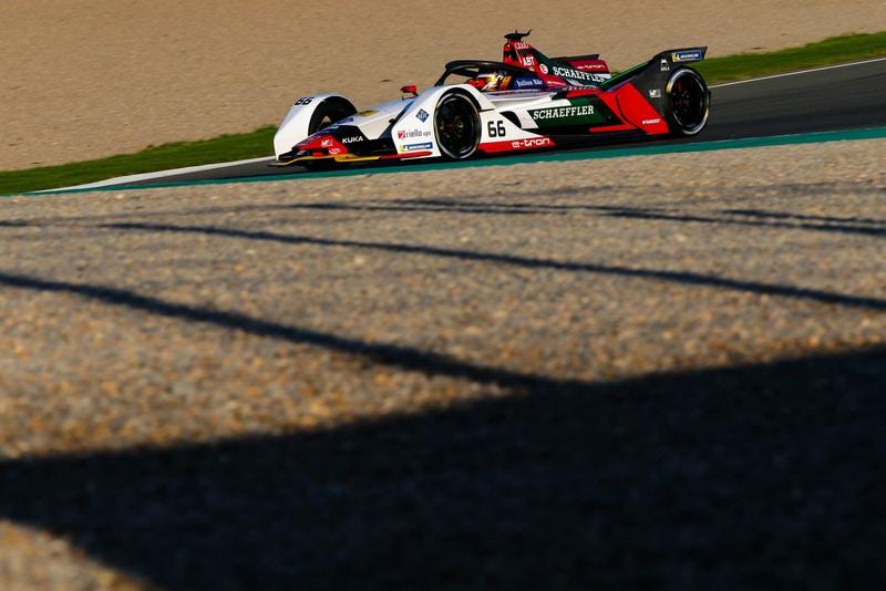 Audi Sport Abt Schaeffler, Valencia pre-season testing