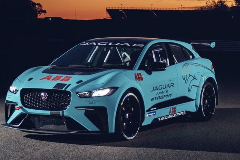 Jaguar I-Pace eTrophy Show Car- Riyadh