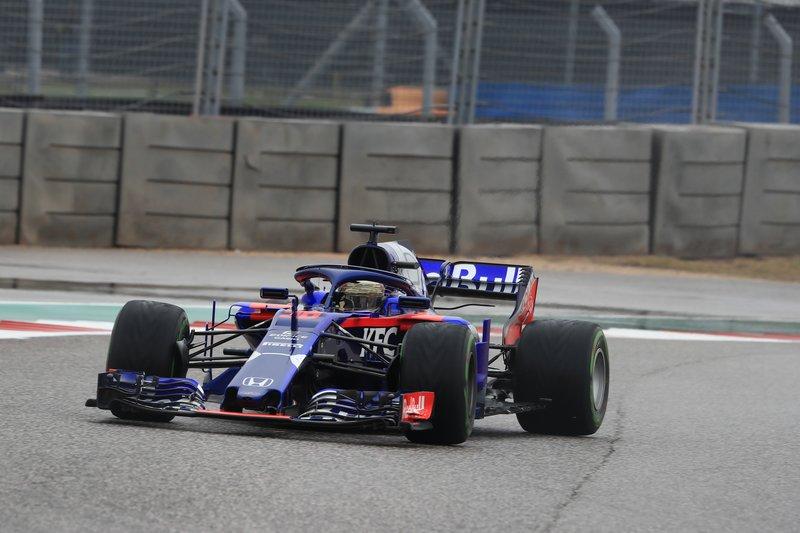 Sean Gelael - Red Bull Toro Rosso Honda - COTA