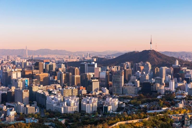 Seoul Skyline as potential Formula E venue