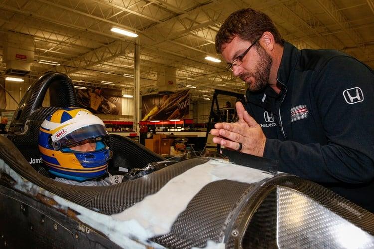 Marcus Ericsson (SWE), 2018 Verizon IndyCar Series, Schmidt Peterson Motorsports, Seat-Fit