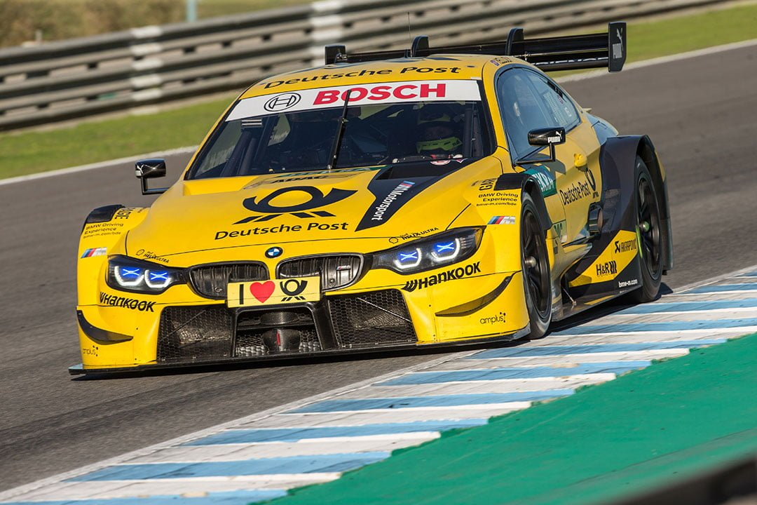 Drivers Impressed By Bmw M4 Dtm Opportunity At Young Drivers Test