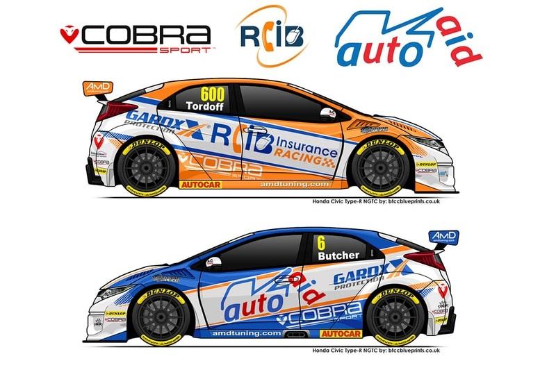 Cobra Sport AmD with AutoAid/RCIB Insurance Racing team