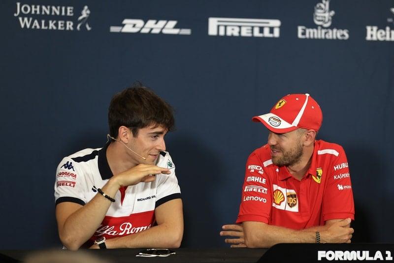 Charles Leclerc & Sebastian Vettel - Formula 1 - 2018 Monaco GP