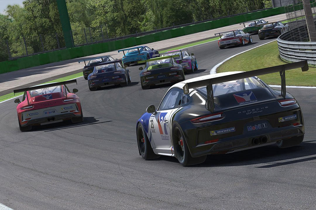 iRacing launch official Porsche eSports racing series - The