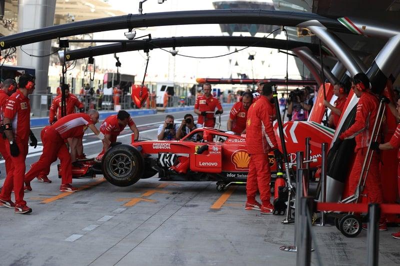 Sebastian Vettel - Formula 1 - 2018 Abu Dhabi GP