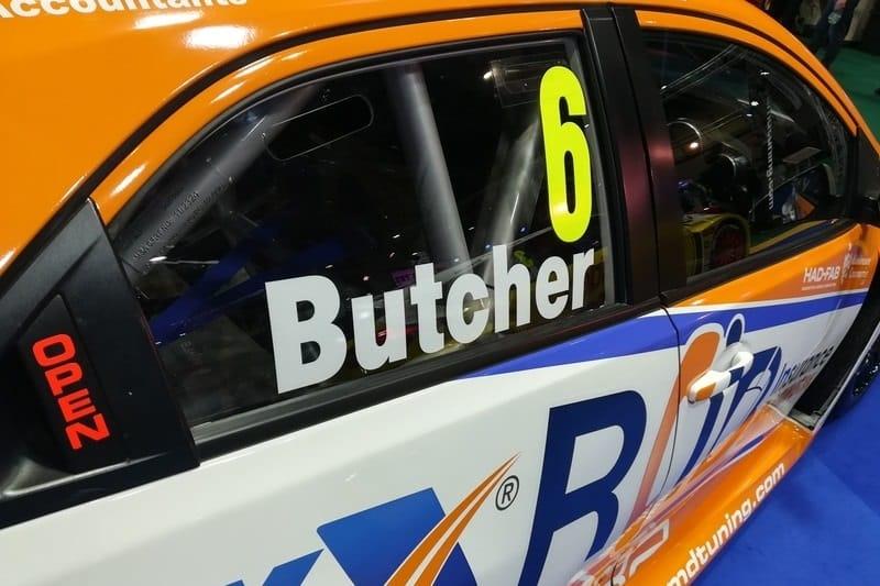 Rory Butcher BTCC