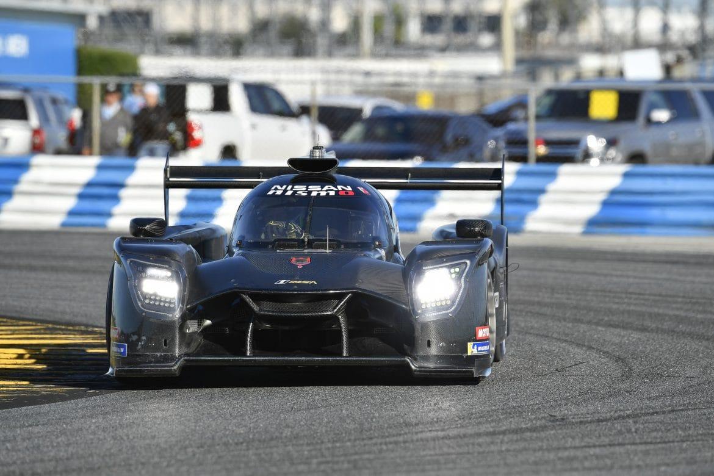 Nissan Ligier DPi in action