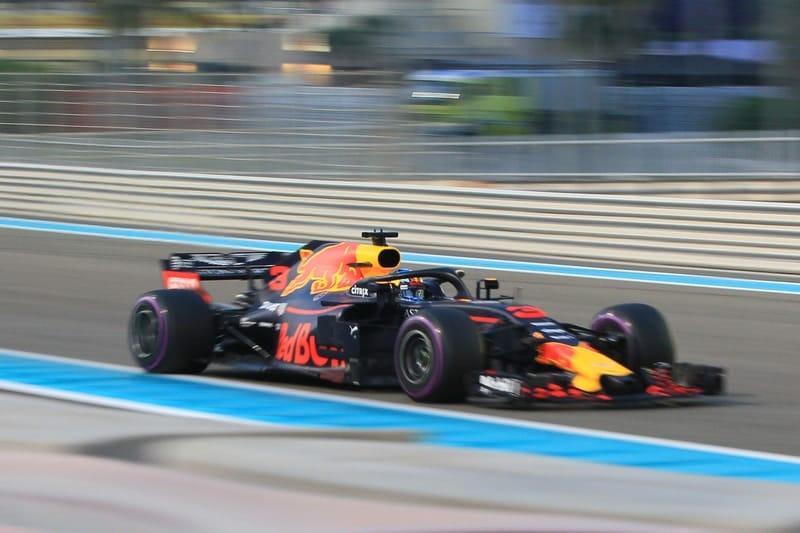 Daniel Ricciardo - Aston Martin Red Bull Racing - Abu Dhabi GP
