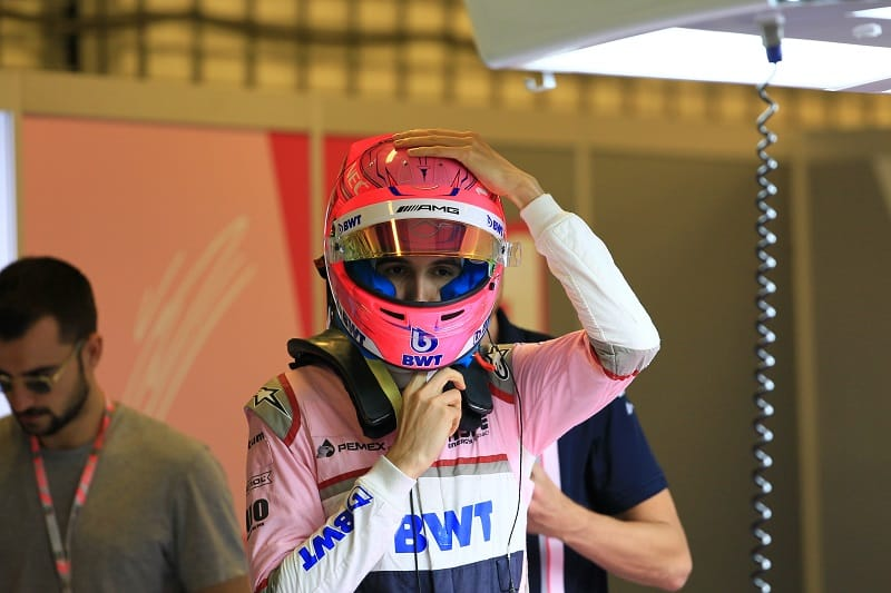 Esteban Ocon - Racing Point Force India F1 Team - Abu Dhabi Grand Prix - Yas Marina Circuit