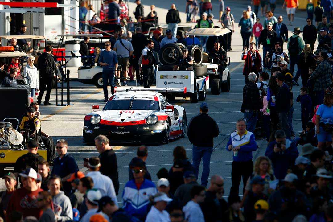 Do Rolex Tick >> Porsche GT Team back in the rhythm at 2019 Roar before the Rolex 24 - The Checkered Flag