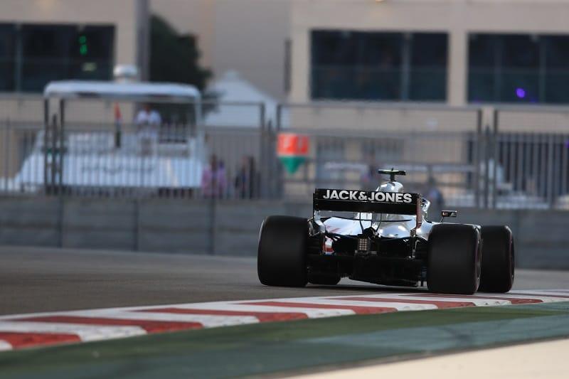 Romain Grosjean - Haas F1 Team - Abu Dhabi Grand Prix - Yas Marina Circuit