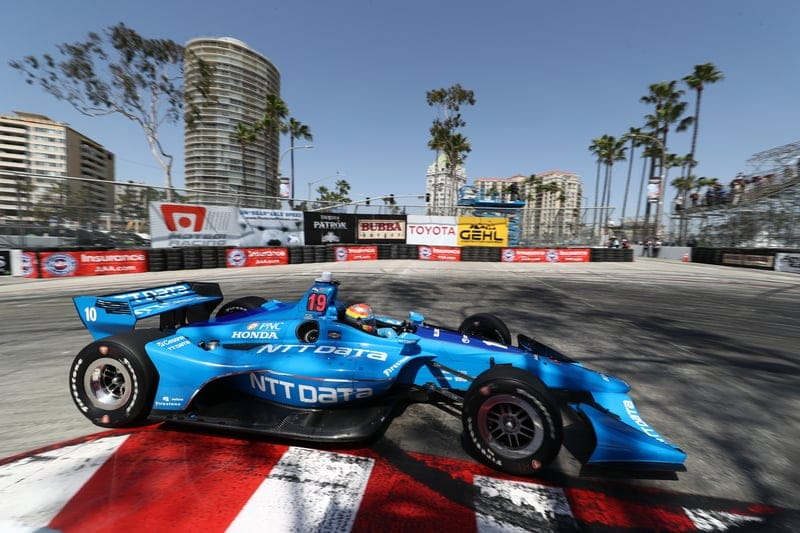 Ed Jones (UAE), Chip Ganassi Racing, 2018 Verizon IndyCar Series, Long Beach