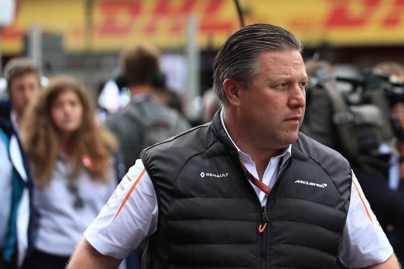 Zak Brown - McLaren F1 Team