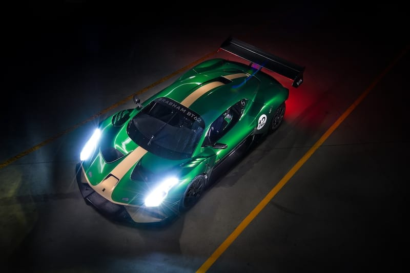 Brabham will take their new BT62 racing this year to get some racing experience for their team as part of their Road to Le Mans 2022