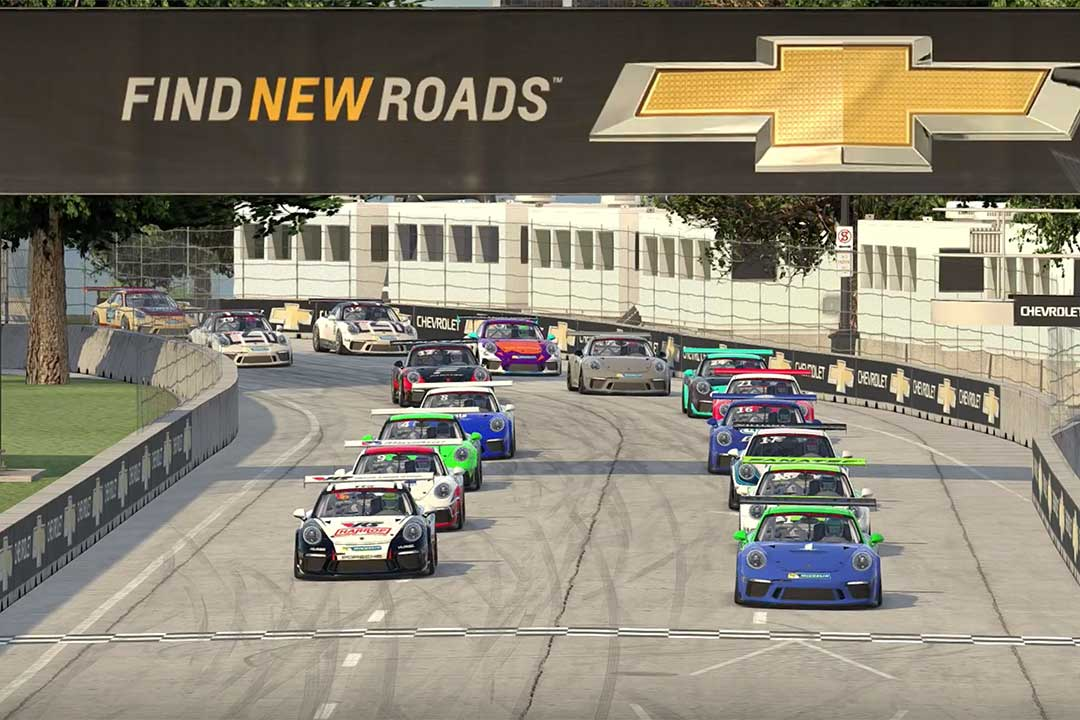 Benecke takes victory in opening iRacing Porsche Pro