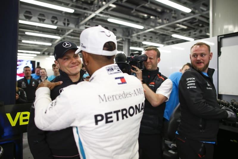 Lewis Hamilton & Valtteri Bottas - Formula 1 - 2018 Azerbaijan GP