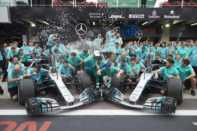 Mercedes AMG Petronas Motorsport - Formula 1 - 2018 Brazilian GP