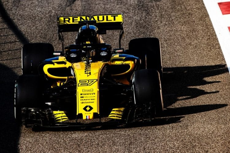 Nico Hülkenberg - Formula 1 - 2018 Abu Dhabi Test