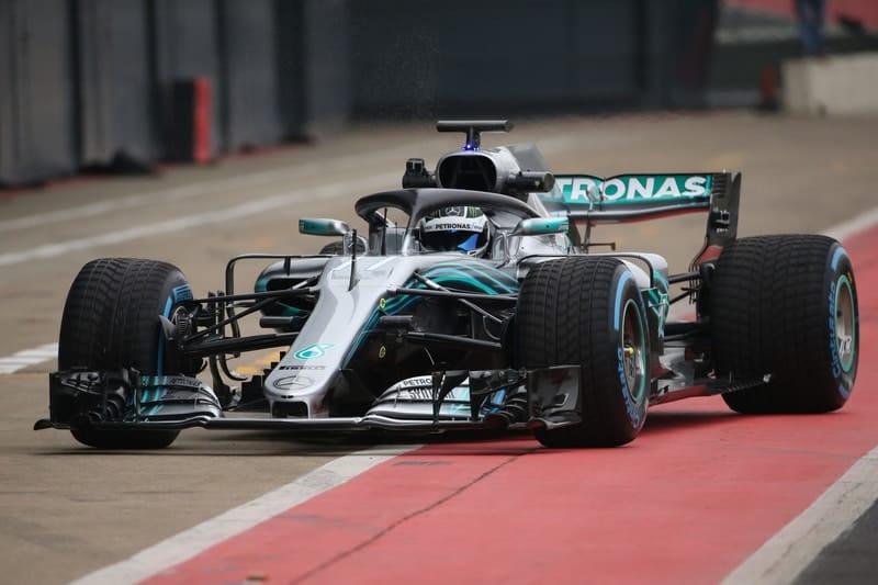 Valtteri Bottas - Formula 1 - 2018 Mercedes F1 Car Launch