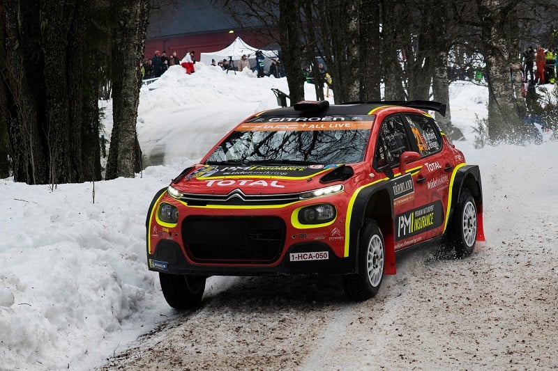2019 Rally Sweden: Tänak in Charge at the Top - The Checkered Flag