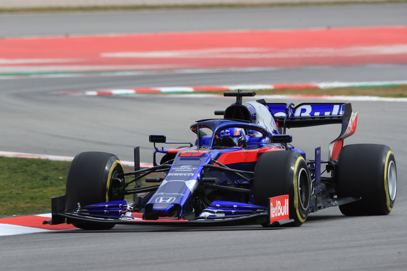 Formula 1 – Winter Testing - Test 1 - Day 2. Scuderia Toro Rosso STR14 – Alexander Albon. Circuit de Barcelona-Catalunya. Tuesday 19th February 2019.