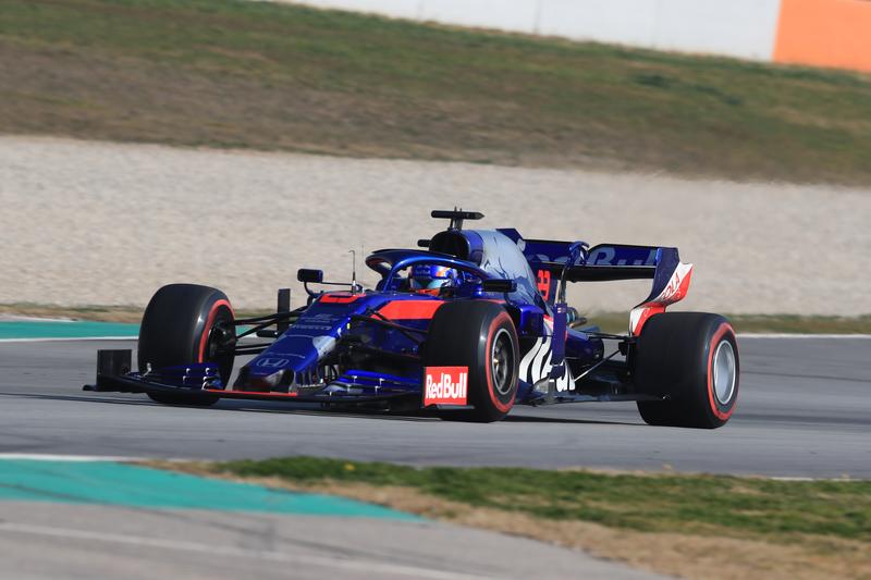 Alexander Albon - Red Bull Toro Rosso Honda - Pre-Season Test 1 - Circuit de Barcelona-Catalunya