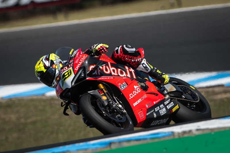 Alvaro Bautista - Photo Credit: Ducati