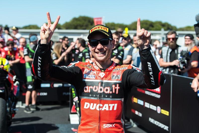 Alvaro Bautista - Photo Credit: Ducati