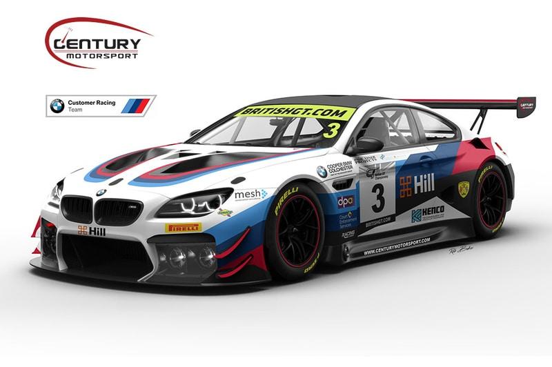 Century Motorsport 2019 M6 GT3