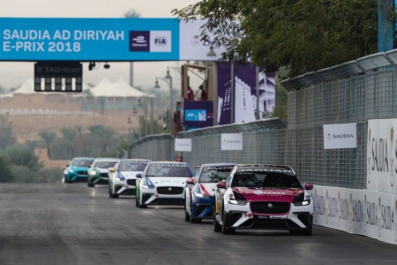 Jaguar I-Pace eTrophy: Ad Diriyah Circuit