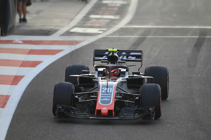 Kevin Magnussen - Rich Energy Haas F1 Team - Abu Dhabi GP