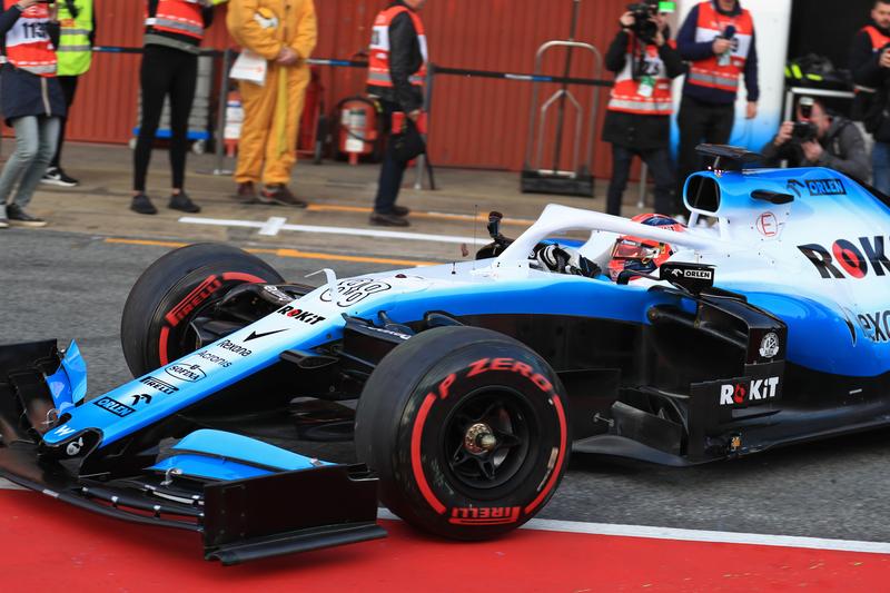 Formula 1 – Winter Testing - Test 1 - Day 4. ROKiT Williams Racing – Robert Kubica. Circuit de Barcelona-Catalunya. Thursday 21st February 2019.