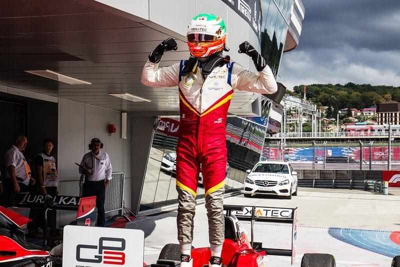 Leonardo Pulcini-2018 GP3 Series-Sochi