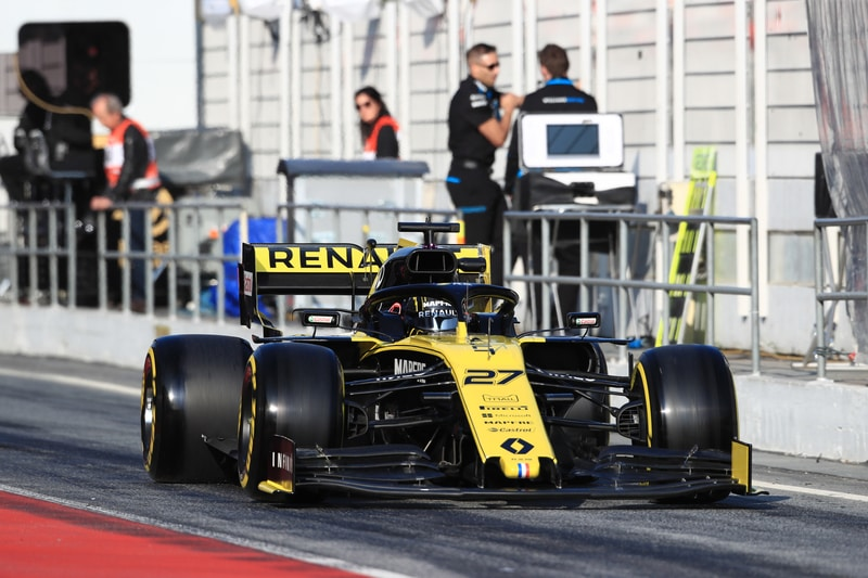 Hülkenberg Tops Final Day Of First Test But Causes Red Flag