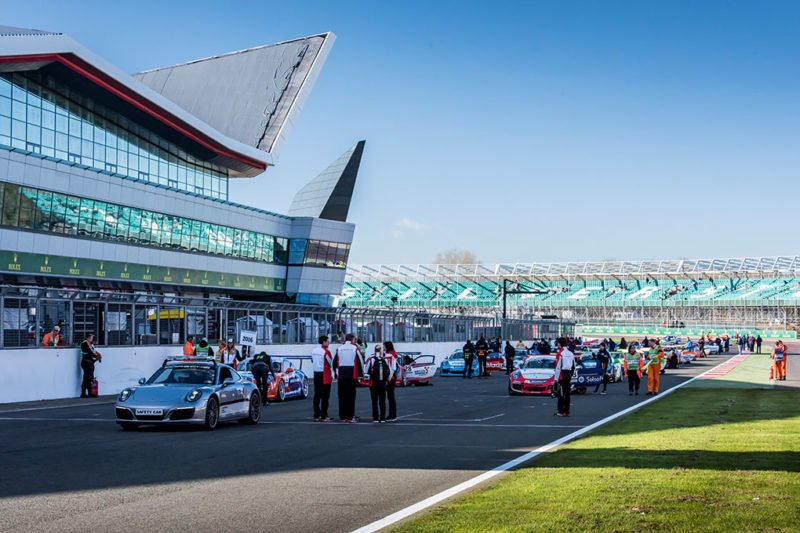 Silverstone Porsche Carrera Cup GB