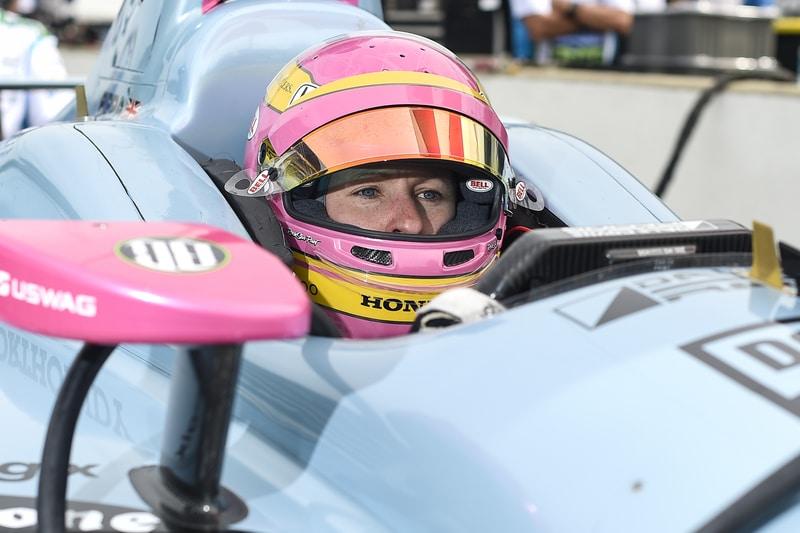 Pippa Mann (GBR), Dale Coyne Racing, 2018 Verizon IndyCar Series, Indianapolis 500