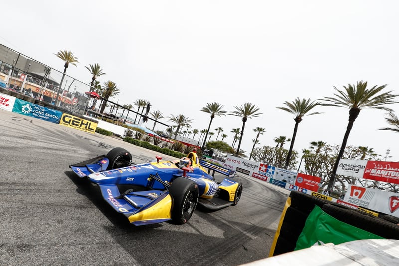 Alexander Rossi (USA), Andretti Autosport, 2018 Verizon IndyCar Series, Long Beach