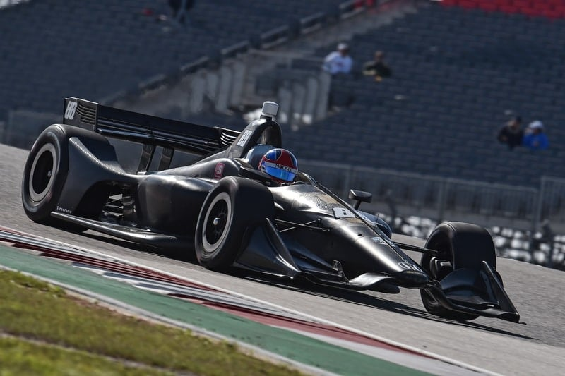 Colton Herta (USA), Harding Steinbrenner Racing, 2019 NTT indyCar Series, Circuit of the Americas test