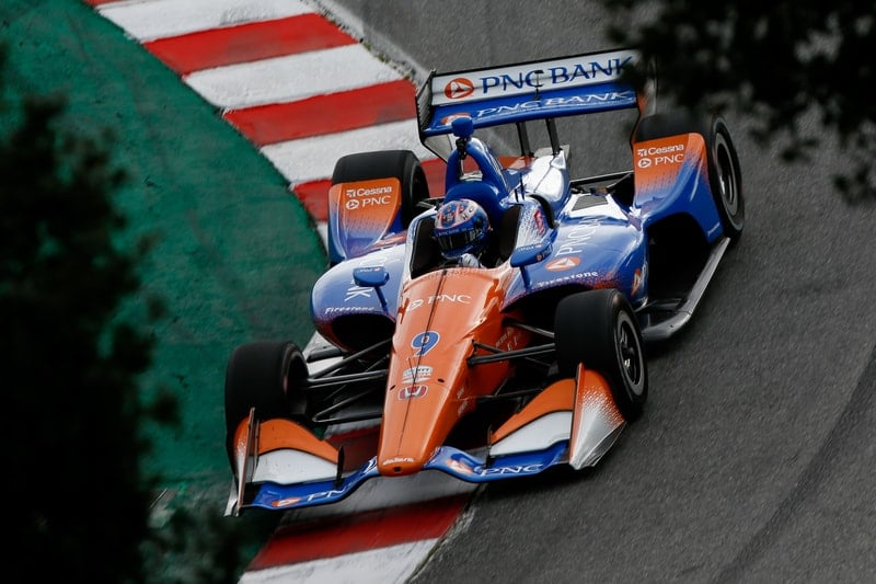 Scott Dixon (NZL), Chip Ganassi Racing, 2019 NTT IndyCar Series, Laguna Seca test
